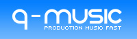 Q-Music Royalty Free Production Music Downloads in WAVE file format
