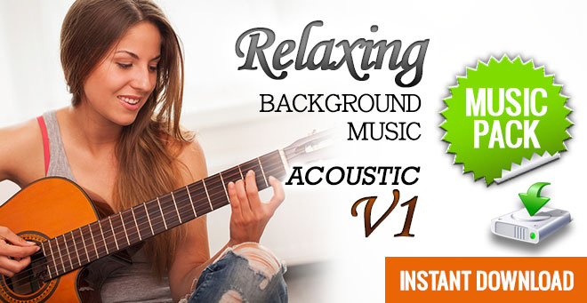Relaxing Background Music - Acoustic V1