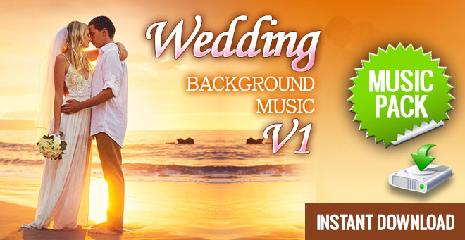 Wedding Background Music - Instant Download